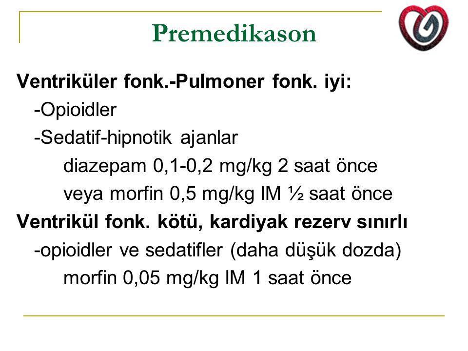 KPB -2 KPB'da doku perfüzyonu sağlanmalı: -Pompa akımı hastanın dinlenimdeki CO'u esas alınarak ayarlanır -Ortalama TA vazopressörler (fenilefrin, norepinefrin) veya venodilatörler (isofluran, NTG, nitroprussid) ile 50-100 mmHg arasında tutulmalı -Yetersiz perfüzyon göstergesi; ~ Oliguri ~ Progresif metabolik asidoz ~ Venöz oksijen basıncı < 40 mmHg ~ Venöz hemoglobin saturasyonu < %60 ~ Nazofarenks-özefagus ısısının mesane, rektum-kas-deri ısısından çok farklı olması KPB sırasında metabolik oksijen gereksinimini azaltmak için kor vücut ısısı 20-28 ◦C'ye düşürülür 15-18 ◦C hipotermi total dolasım arrestine ve 60 dk'ya kadar kompleks onarımların yapılmasına izin verir