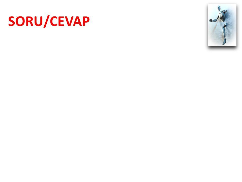 SORU/CEVAP