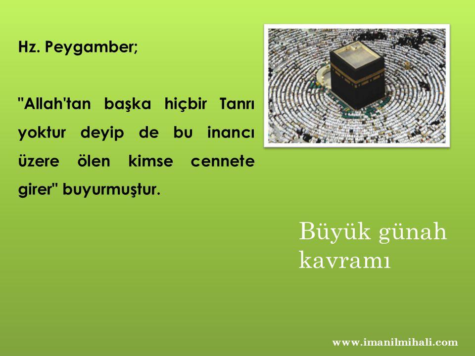 www.imanilmihali.com Hz. Peygamber;