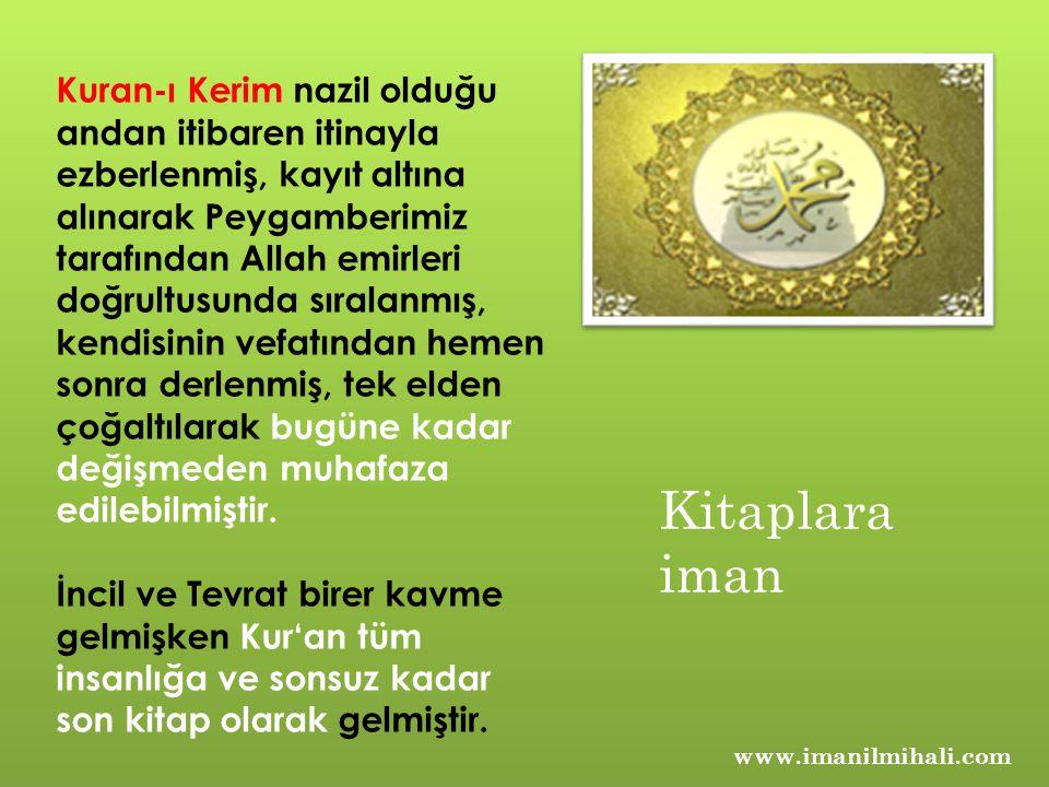 Kuran-ı Kerim nazil olduğu andan itibaren itinayla ezberlenmiş, kayıt altına alınarak Peygamberimiz tarafından Allah emirleri doğrultusunda sıralanmış