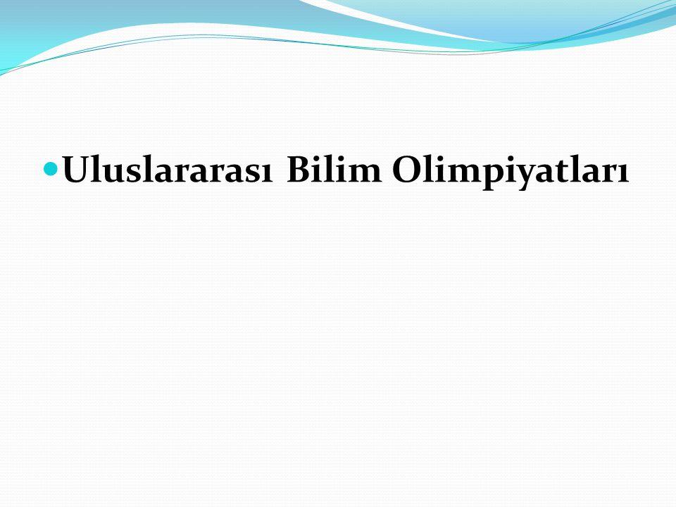 Uluslararası Bilim Olimpiyatları
