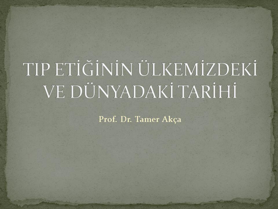 Prof. Dr. Tamer Akça