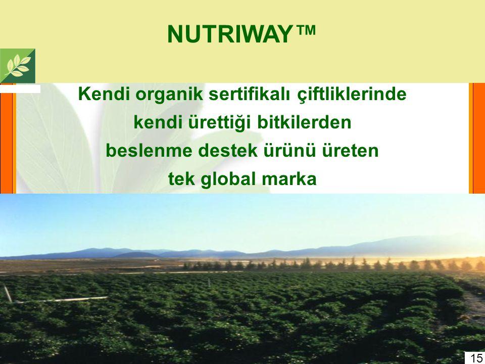 Carl Rehnborg NUTRILITE Şirketini 1934'te kurmuştur Önemli bitkisel gıdalar, (fitobesleyicileri) keşfetmiştir Bitkisel ürün konsantreleri ürünler geli