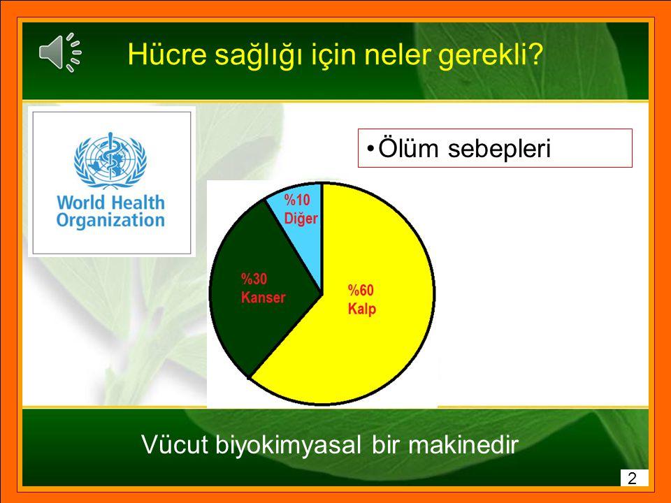 Kaynaklar 1 Dünya Sağlık Örgütü (WHO) Verileri Prof. Dr. Mehmet Öz Prof. Dr. Canan Karatay İstanbul Bilim Üniversitesi İç Hastalıkları ve Kardiyoloji