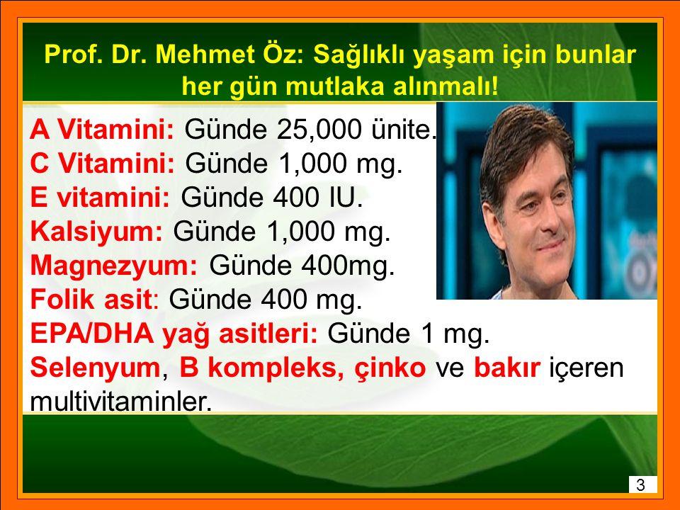 Ölüm sebepleri Vücut biyokimyasal bir makinedir Hücre sağlığı için neler gerekli? 2