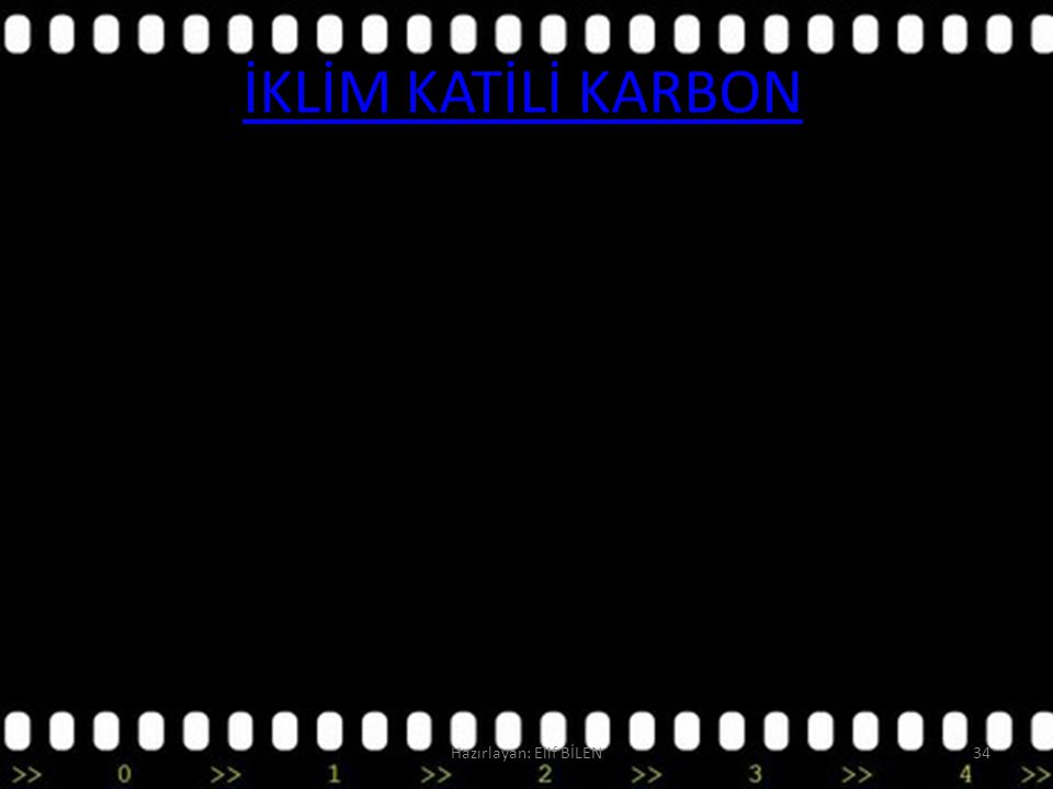 İKLİM KATİLİ KARBON Hazırlayan: Elif BİLEN34