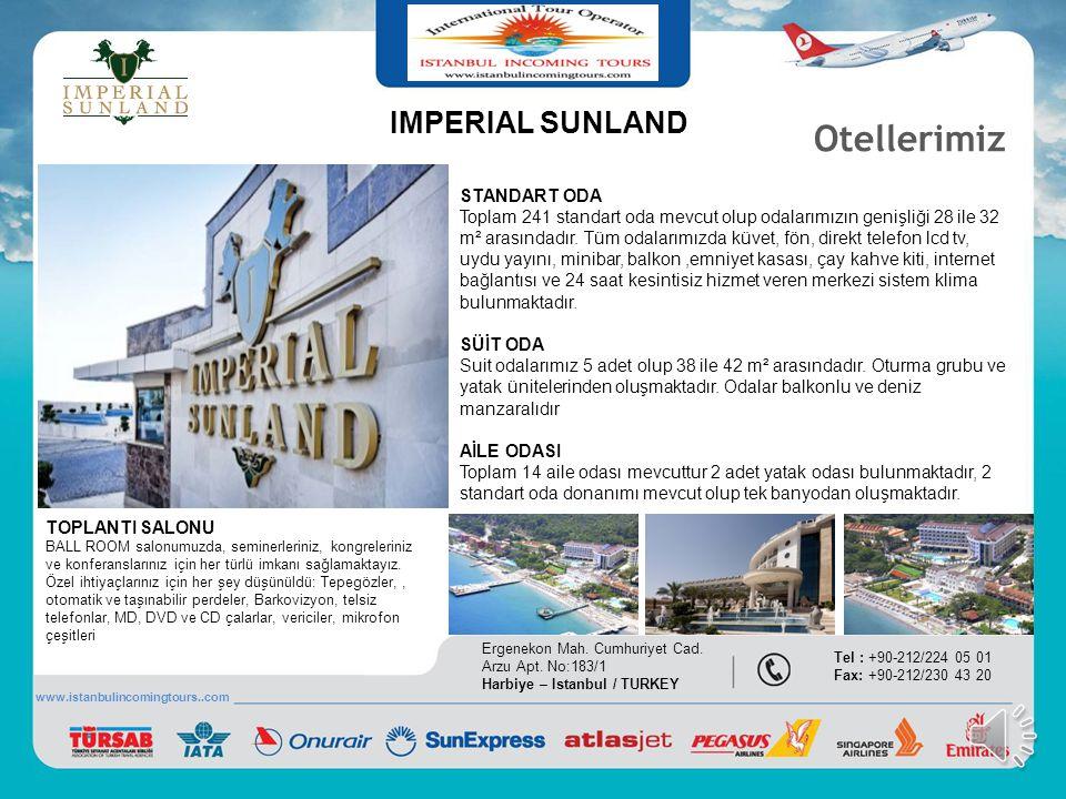 Siz değerleri misafirlerimizin seyahat alışkanlıkları ve talepleri doğrultusunda en uygun alternatifleri en cazi fiyatlarla sunan Istanbul Incoming To