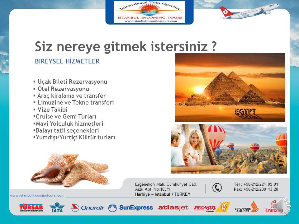  Uçak Bileti Rezervasyonu  Otel Rezervasyonu  Kurumsal Toplantı & Seminer Organizasyonu  Bayi Teşvik Gezileri  Yurt Dışı Fuar Gezileri  Takım Mo
