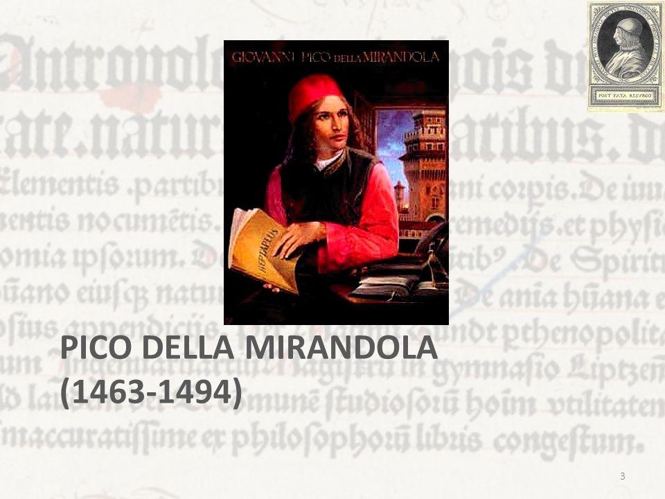 PICO DELLA MIRANDOLA (1463-1494) 3