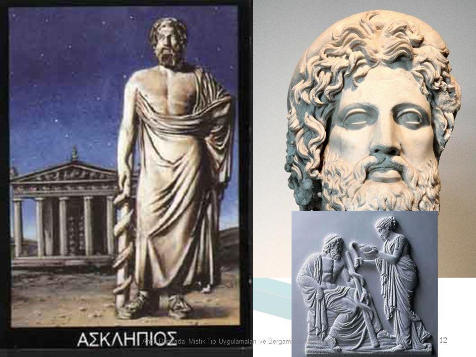 Antik Dünyada Mistik Tıp Uygulamaları ve Bergama Asklepieionu 12