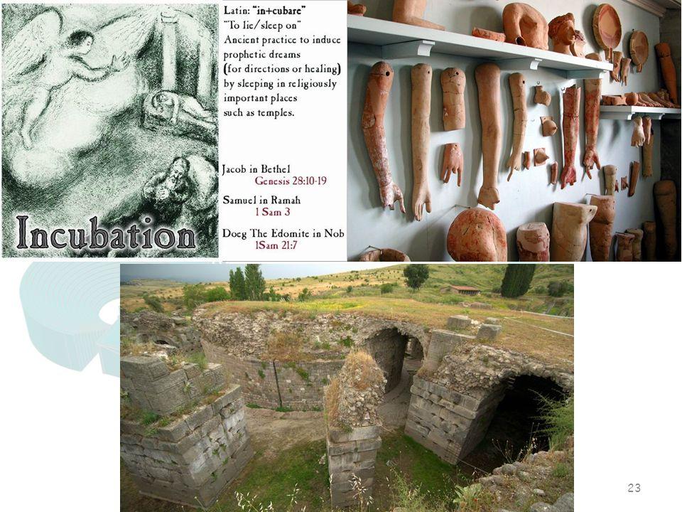 Antik Dünyada Mistik Tıp Uygulamaları ve Bergama Asklepieionu 23