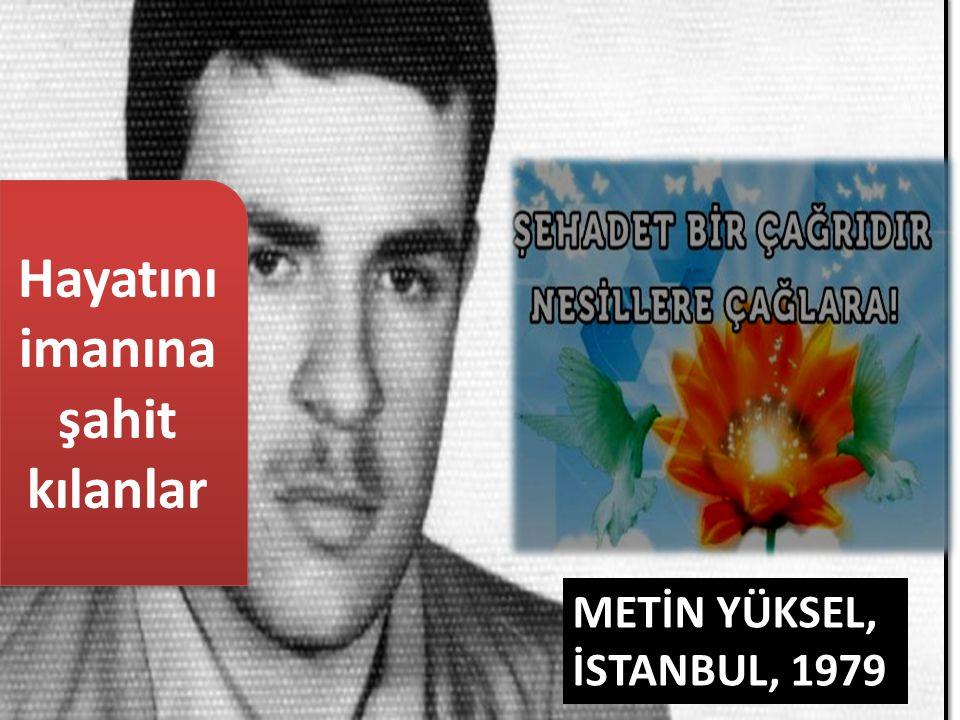 METİN YÜKSEL, İSTANBUL, 1979