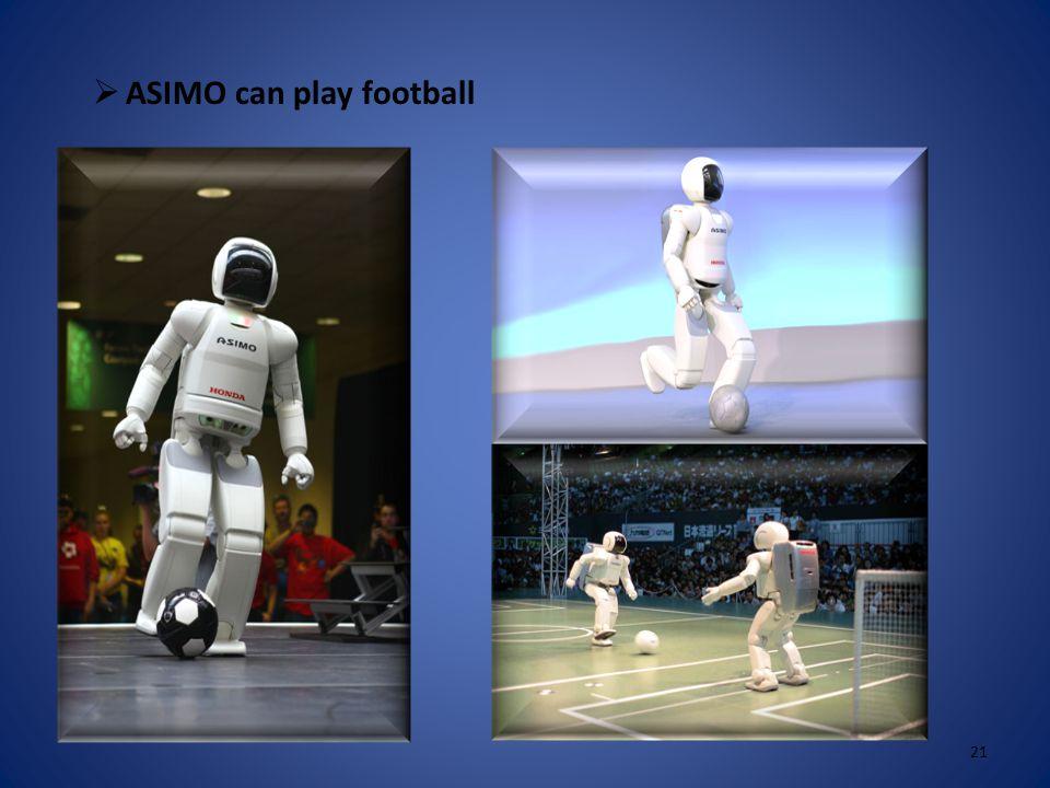  ASIMO can shake hands 20