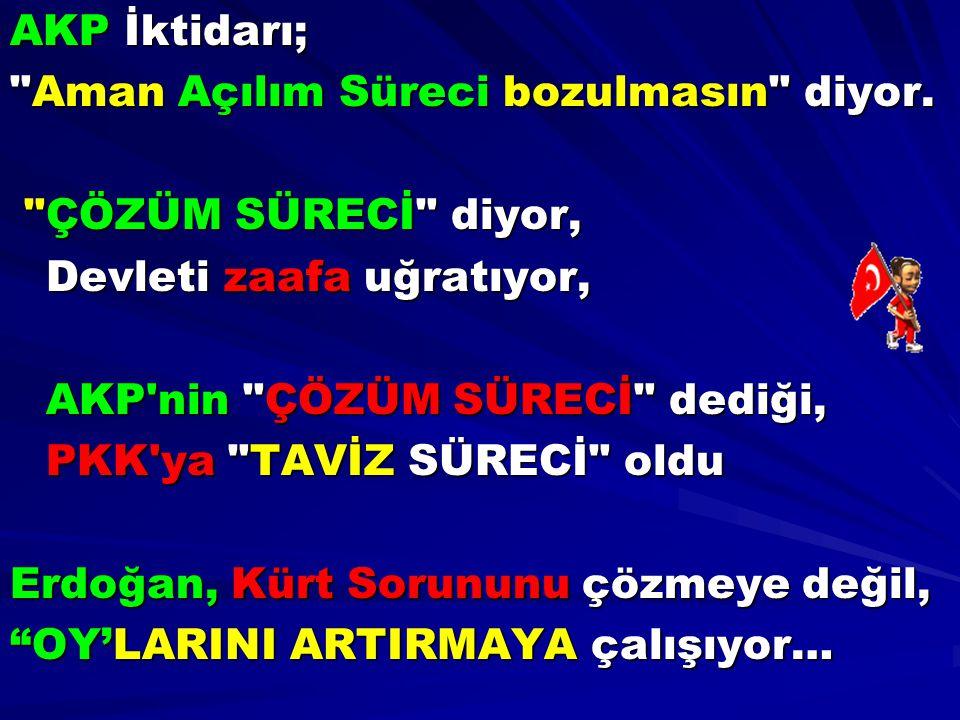 AKP İktidarı;