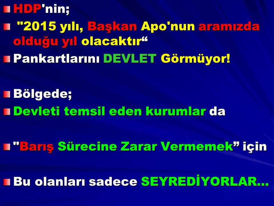 HDP'nin;