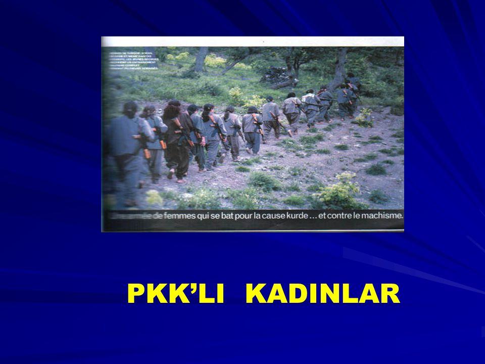 PKK'LI KADINLAR