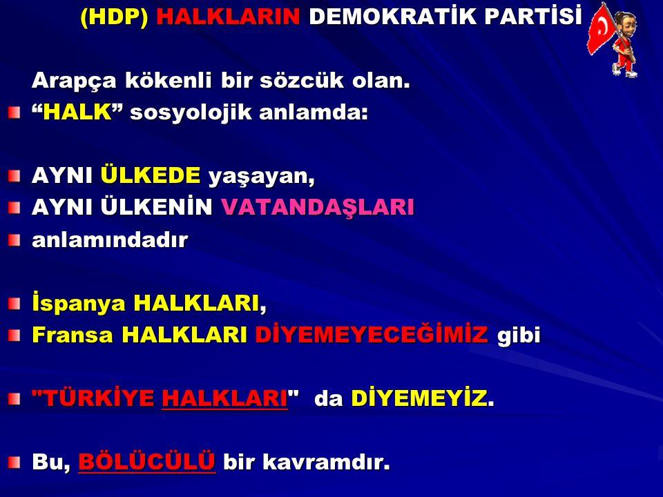 PKK da, HDP de Silah Bırakmaktan asla Söz Etmiyor.