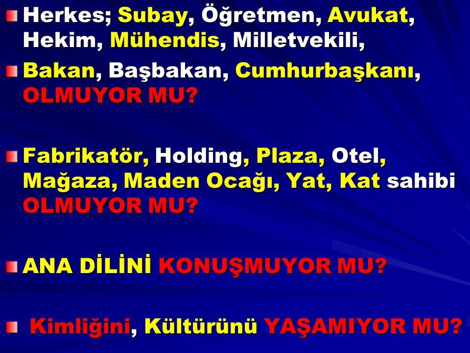 AKP'nin dışındaki partiler olarak, SEÇİMLERDE defalarca Kaybettik.
