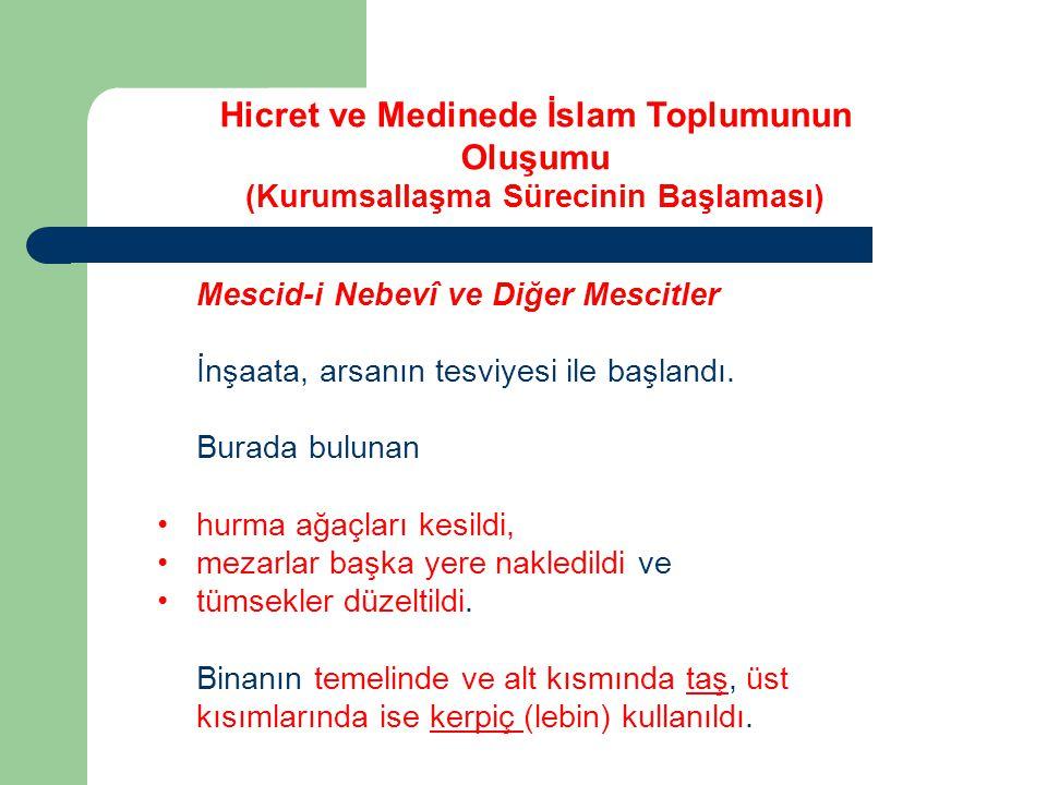 Mescid-i Nebevî nin fonksiyonlarına gelince, Mescidin 3 fonksiyonu vardır.