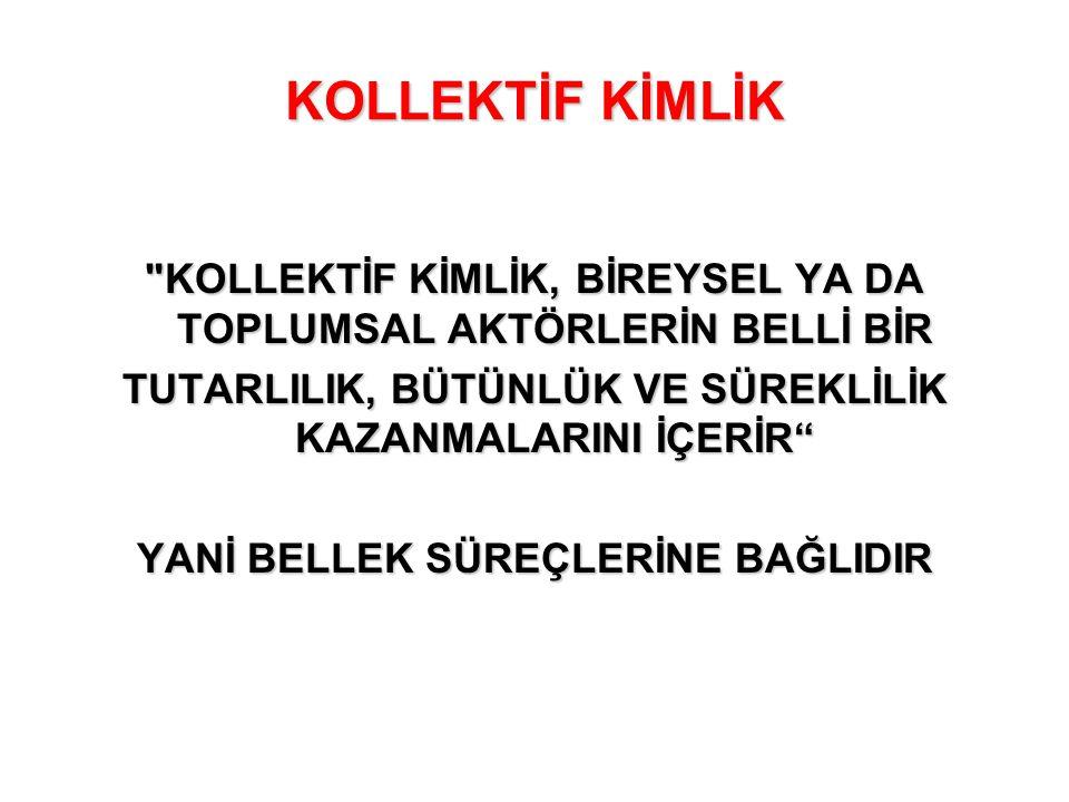 KOLLEKTİF KİMLİK