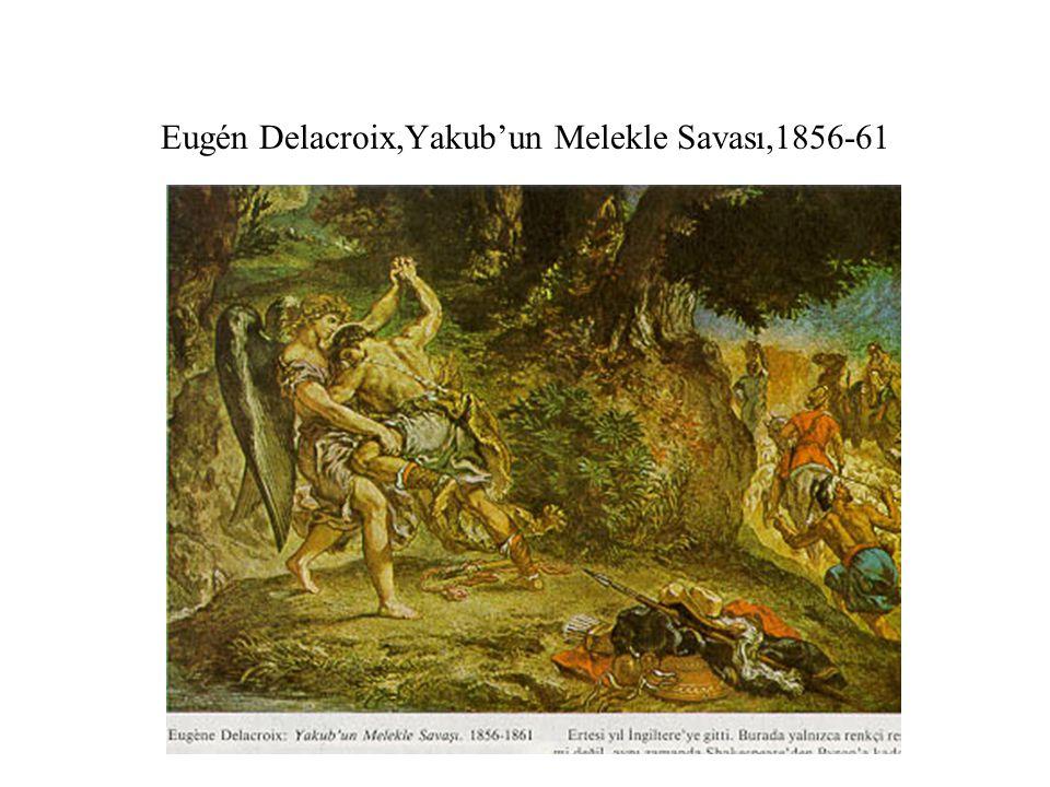 Eugén Delacroix, Messolongion Yıkıntılarında Can Çekişen Yunanistan.