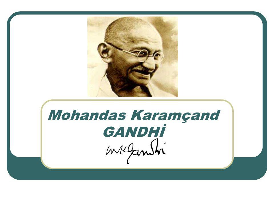 Mohandas Karamçand GANDHİ Hindistanda ki, ilk önemli başarılarını 1918 yılında Çamparan karışıklığı ve Kheda Satyagraha sırasında elde etmiştir.