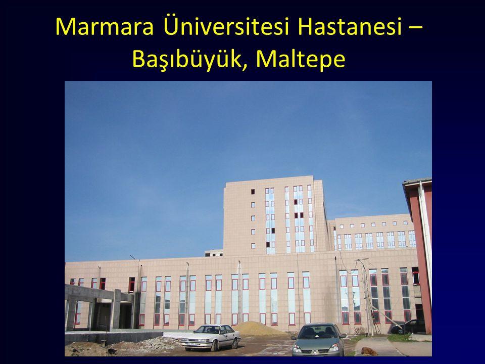 Marmara Üniversitesi Hastanesi – Başıbüyük, Maltepe