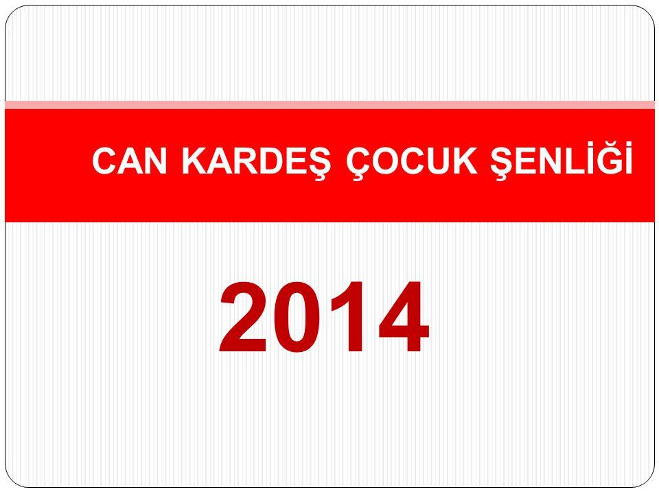 2014 CAN KARDEŞ ÇOCUK ŞENLİĞİ