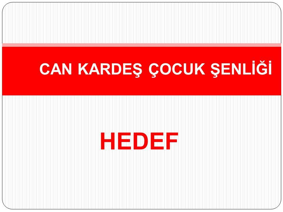 HEDEF CAN KARDEŞ ÇOCUK ŞENLİĞİ
