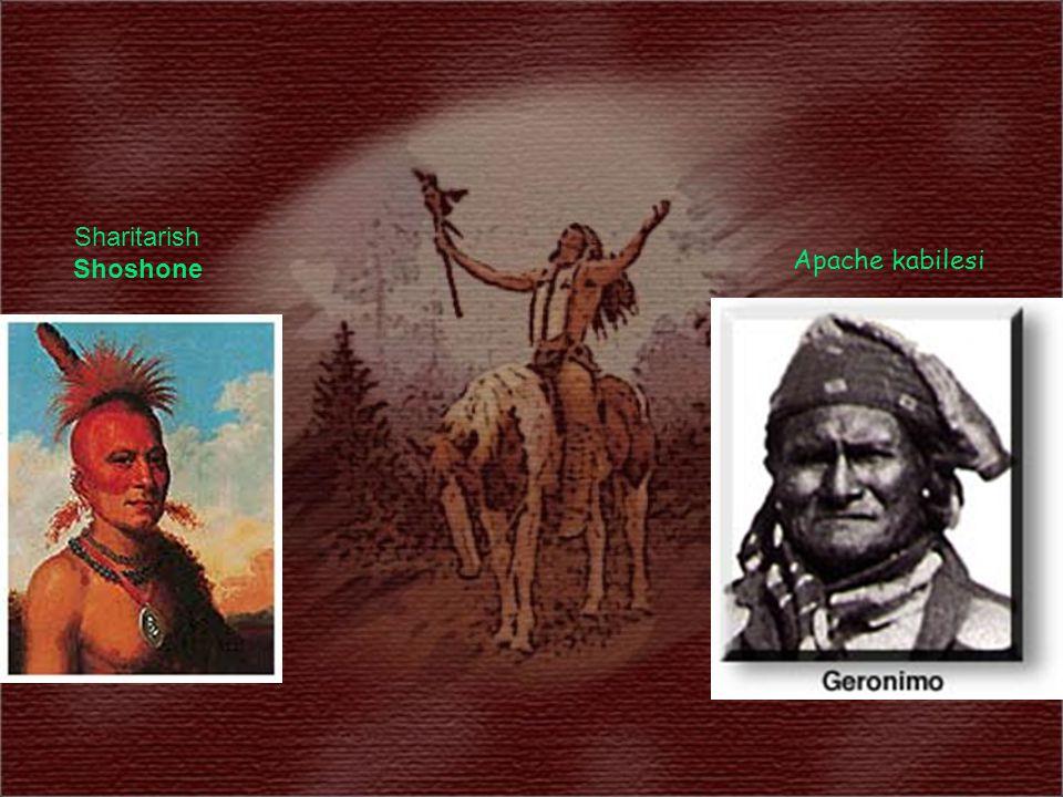 Sharitarish Shoshone Apache kabilesi