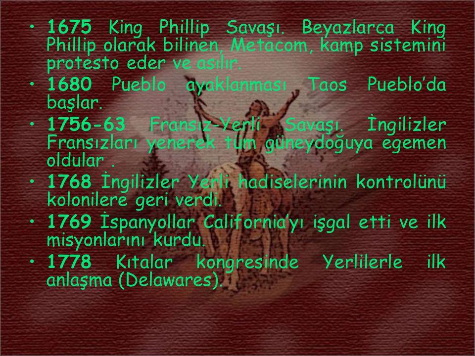 Kızılderililer ve Türkler 2-4 Temmuz 1999 tarihleri arasında Denizli'de yapılan Yedinci Türk Dünyası Dostluk Kardeşlik ve İşbirliği Kurultayı na katılan Onayda Kızılderili kabilesi reisi ve Amerika Yerlileri Sosyal İşler Daire Başkanı M.