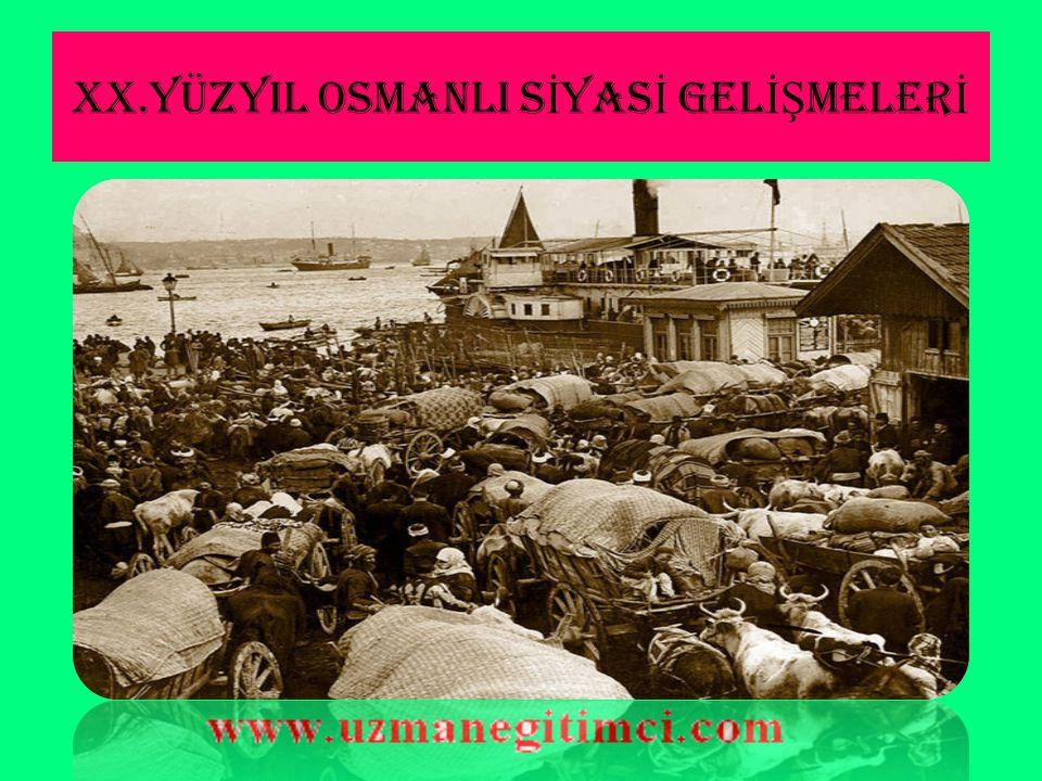 İ TALYA'NIN S İ YAS İ MANEVRALARI  Zaten Osmanlı Devleti'nin Kuzey Afrika'daki diğer toprakları Fransızlar ve İngilizler tarafından işgal edilmişti.