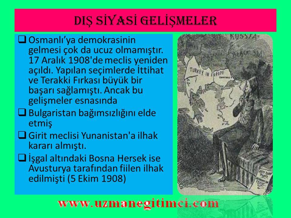 II.ME Ş RUT İ YET DÖNEM İ GEL İŞ MELER  Osmanlı halkını oluşturan her milletten milletvekili seçilmiş ve memleketin yönetimini ellerine almışlardı. A