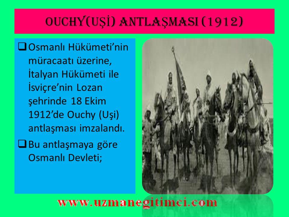 OSMANLI'YI SAVA Ş I B İ T İ RMEYE İ TEN SEBEPLER  Bu gelişme üzerine Osmanlı yöneticileri, devlet maliyesinin ve ordunun her iki savaşı sürdürecek du