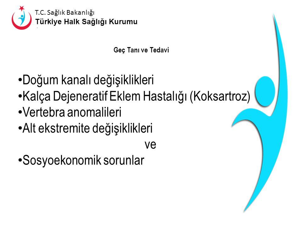 T.C. Sağlık Bakanlığı Türkiye Halk Sağlığı Kurumu Tanı Fizik muayene Radyolojik Muayene ● Artrografi ● Ultrasonografi ● Bilgisayarlı Tomografi ● Manye