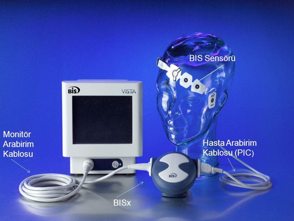 BIS Sensörü Hasta Arabirim Kablosu (PIC ) BISx Monitör Arabirim Kablosu