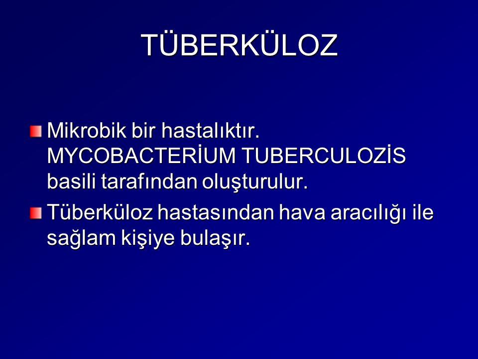 Tedavi Tüberküloz (verem) tedavisi; hem hasta için hem de toplum sağlığı için yarar sağlamaktadır.