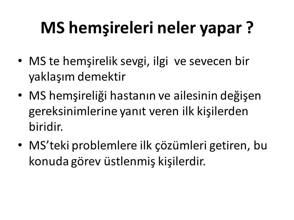 """MS Tedavisinin İlkeleri Multipl skleroz dünyası Aralıklı bakım Destekleyici tedavi Tanı """" Destekleyici tedbirler Belirtisel tedavi MRG Hastalık seyrin"""