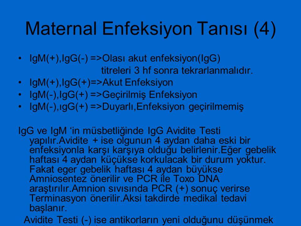 Fetal Enfeksiyon (1) Konjenital enfeksiyon insidansı –I.