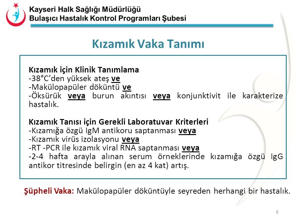 Salgın Eğrisi (Türkiye, 2012-2014) (n=8119) 2012 2013 2014