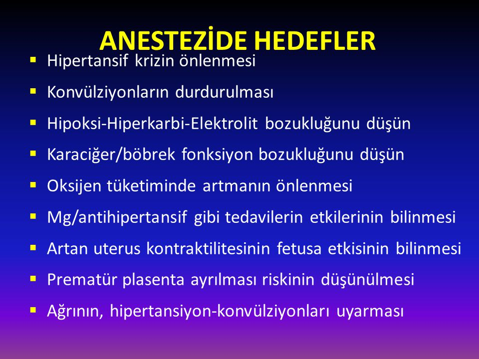 Anestezi yönetiminde nelere dikkat edilir.1. Havayolu 2.
