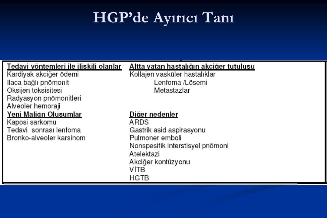 HGP'de Ayırıcı Tanı
