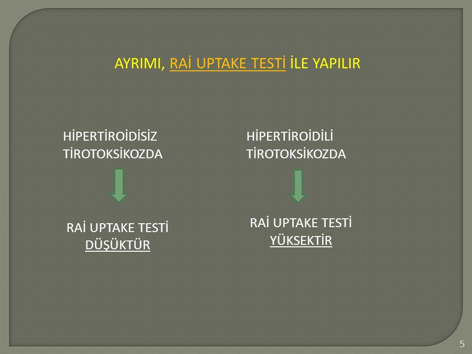 3 TSH FT 4 Ötiroidizm Klinik Hipotiroidi Subklini k Klinik Hipertiroidi Subklinik T4: 4.6- 12 µg/dl T3: 80-180 µg/dl TSH: 0.5-5 ıu/ml