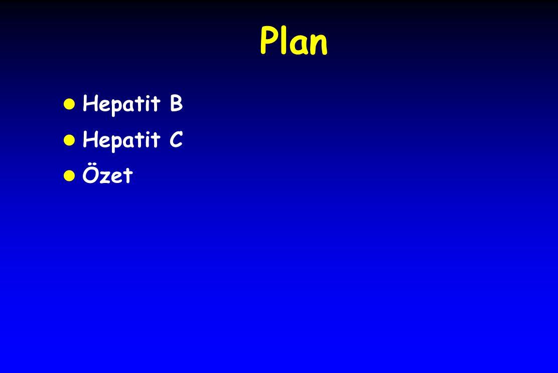 Plan l Hepatit B l Hepatit C l Özet