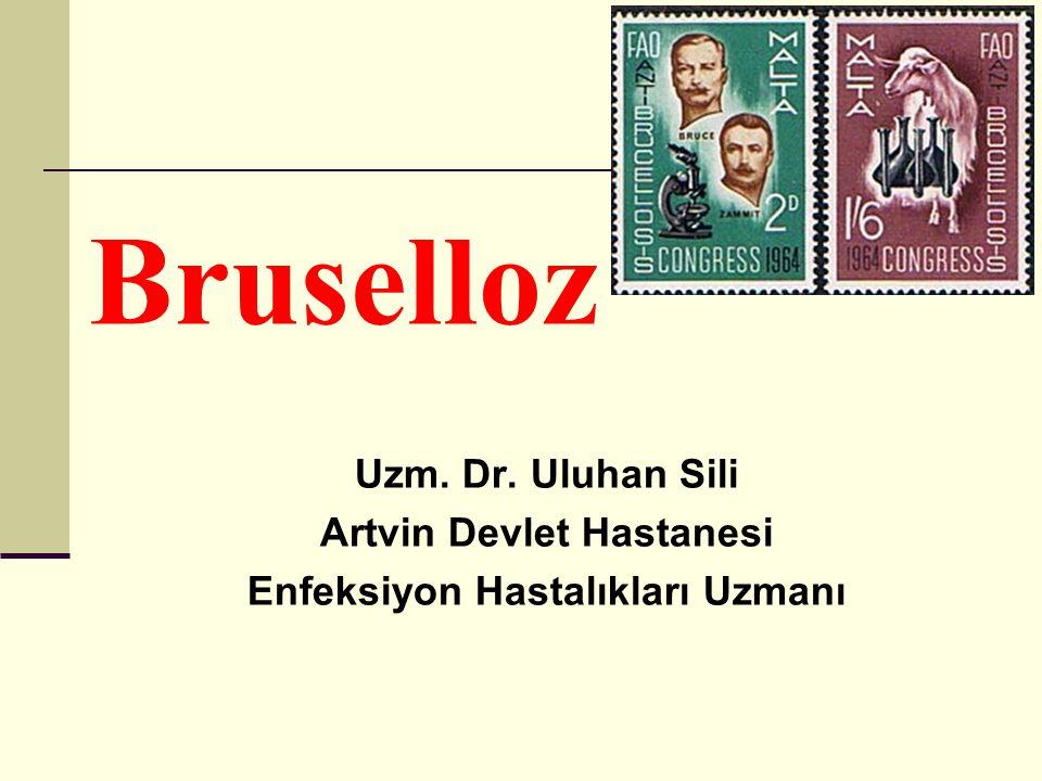 Bruselloz Uzm. Dr. Uluhan Sili Artvin Devlet Hastanesi Enfeksiyon Hastalıkları Uzmanı