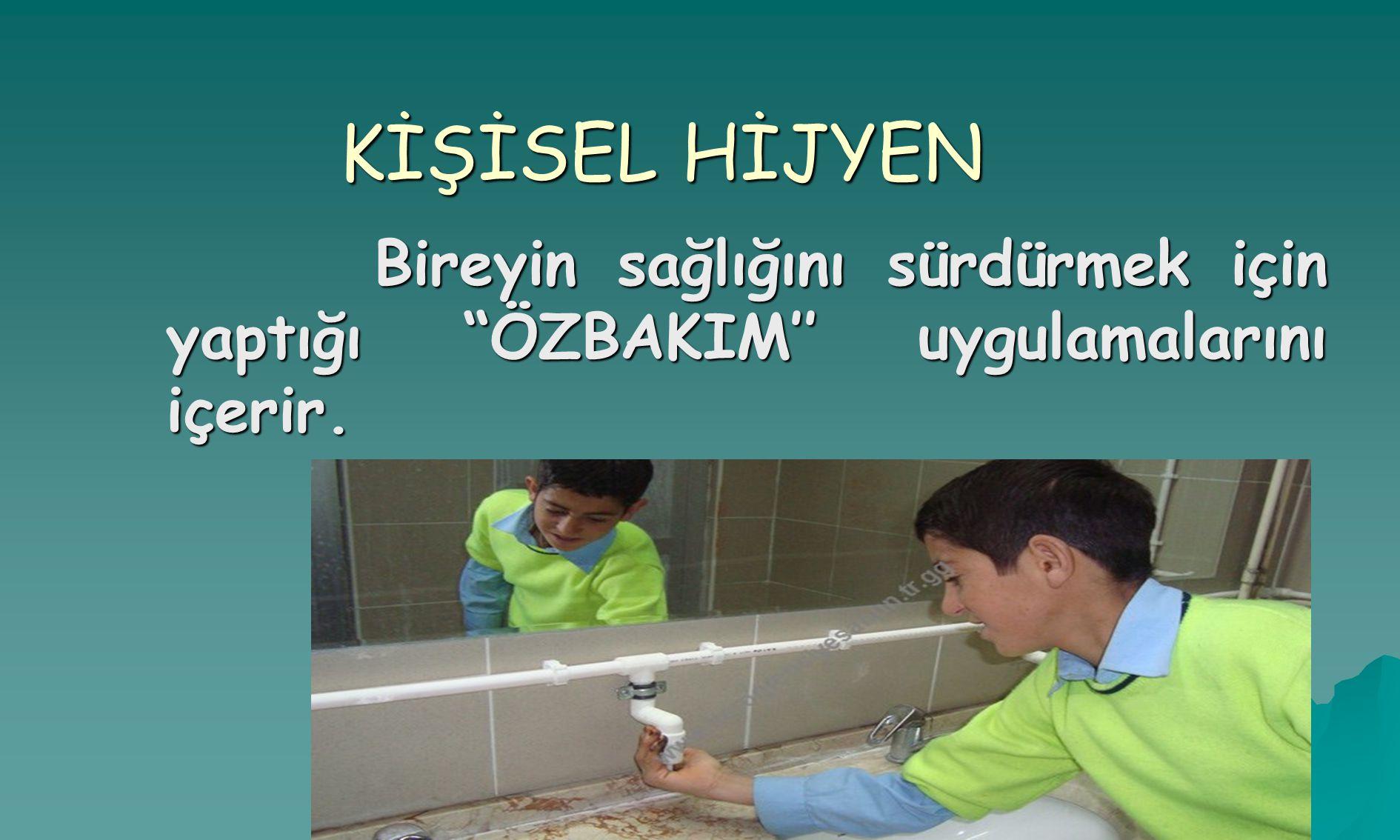 www.herogrenciyesabun.tr.gg Kişisel Hijyen Konusu İçinde; Kişisel Hijyen Konusu İçinde;  Vücut Bakımı Ve Temizliği,  Yüz-boyun Temizliği,  El Temizliği,  Ayak Temizliği,  Kulak Temizliği,  Saçların Temizliği,  Ağız- Diş Bakımı,  Beslenme,  Tuvalet Alışkanlığı Ve Temizliği  Giyim Konuları yer almaktadır.