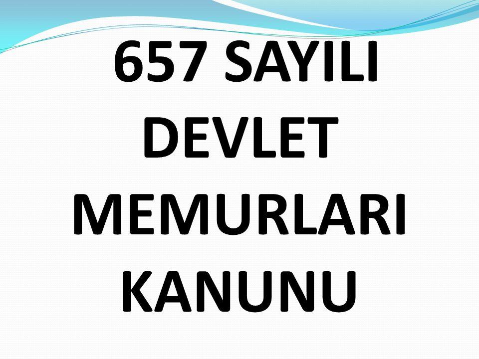 Sınav şartı: Devlet kamu hizmet ve görevlerine Devlet memuru olarak atanacakların açılacak Devlet memurluğu sınavlarına girmeleri ve sınavı kazanmaları şarttır.