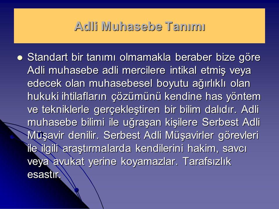 Adli Müşavirlik mesleğinin Türkiye'de bir meslek olarak kabul edilebilmesi için üç temel şart zorunludur.