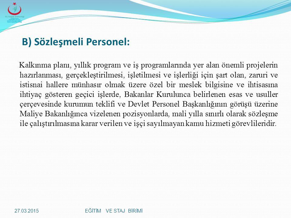 EĞİTİM VE STAJ BİRİMİ Tedbirin Kaldırılması: Madde 142-Soruşturma sonunda disiplin yüzünden memurluktan çıkarma veya cezai bir işlem uygulanmasına lüzum kalmayan Devlet memurları için alınmış olan görevden uzaklaştırma tedbiri, 138 inci maddedeki yetkililerce (Müfettişler tarafından görevden uzaklaştırılanlar hakkında atamaya yetkili amirlerce) derhal kaldırılır.