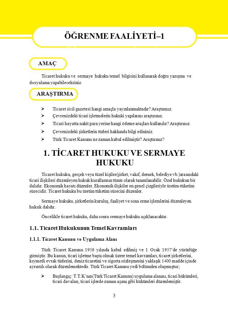 İşlem Basamakları Öneriler (İşlemin Yapılmasına İlişkin Öneriler)  Anayasa Yargısını Kavrayınız.